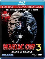 Maniac Cop 3: Badge of Silence [New Blu-ray] With DVD, Ac-3/Dolby Digi