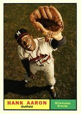 HANK AARON 61 ACEO ART CARD ###FREE COMBINED SHIPPING###
