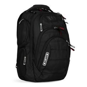 OGIO GAMBIT LAPTOP BACKPACK MENS BACK PACK - BLACK - NEW 2020