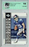 Eli Manning 2004 Upper Deck Rookie Premiere #1 Rookie Card PGI 10 Giants