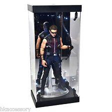 "Acrylic Display Case LED Light Box for 12"" 1/6th Star Wars Princess Leia Figure"