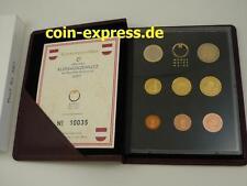 *** EURO KMS ÖSTERREICH 2007 PP Polierte Platte Kursmünzensatz Austria Coin Set