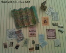 Victorien Maison de poupées miniatures repro 1/12th fait à la main-Edinburgh Desk Set2 BN