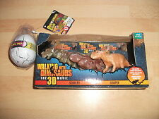 2 goodies du film WALKING WITH THE DINOSAURS (neufs sous blister)