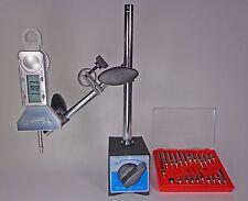 Magnetic Base w/ iGa Digital Indicator & 22 Piece Dial Test Indicator Anvil Set