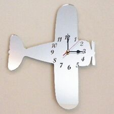 Bi-Plane Clock - Acrylic Mirror (Several Sizes Available)