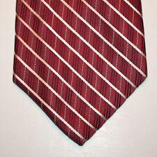 NEW Arrow Silk Neck Tie Dark Pink with Light Pink Stripes 1361