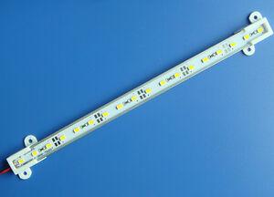 1x 25cm 12V 5630 18 SMD Warm White Aluminium Rigid LED Hard Strip Bar Light