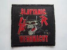 SLAYER SLAYTANIC WEHRMACHT AUFNÄHER PATCH Limited edition JEFF HANNEMAN