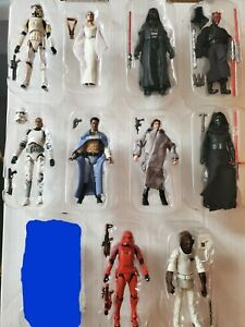 Star Wars The Vintage Collection LOT of 10 Figures LOOSE COMPLETE RARE Han Maul