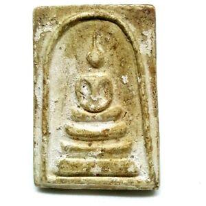 Phra Somdej Wat Rakang Thai Buddha Amulet Old Magic Powder Powerful Rare #C19