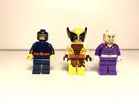 Lego Super Heroes X-Men 76022 Wolverine Cyclops Magneto See Description