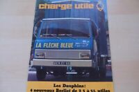 214693) Berliet LKW - Charge Utile - Prospekt 197?
