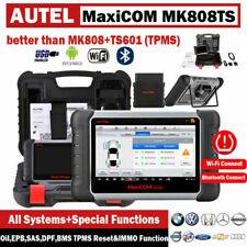Autel MaxiCOM MK808TS Car OBD2 Scanner TPMS Sensor Programing Reset PK MX808TS