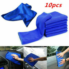 10x Auto Car Soft Absorbent Wash Cloth Care Microfiber Cleaning Towels Wipe Dry