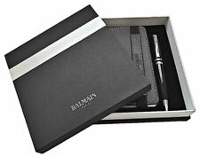 Balmain Paris Official Product Stationary Gift Set Notebook & Pen In Gift Box
