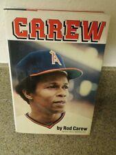 Rod Carew autograph book certified by JSA