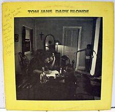Rare Rock / Funk LP - Tom Jans - Dark Blonde - AUTOGRAPHED - Columbia # PC 34292