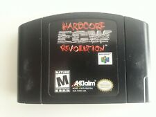 ECW: Hardcore Revolution (Nintendo 64, 2000) Cleaned / Tested / Authentic N64