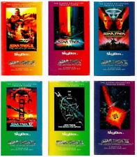 1994 STAR TREK CINEMA COLLECTION (6 SETS) TRADING CARD SETS