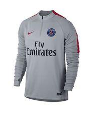 Nike Paris Saint-Germain PSG Squad Drill Top Grey Size Small 809738-013