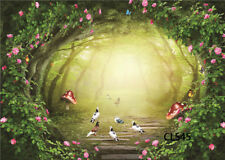 9X6FT Fairy Tale Forest Vinyl Photography Backdrop Studio Props Background CL545
