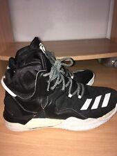 96eab0e98120 Mens Adidas D Rose 7 Basketball Shoes Size 8.5 Black
