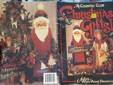 Christmas Gifts Painting Book-Country Club/Julie's White House-Santas/Angels/Orn
