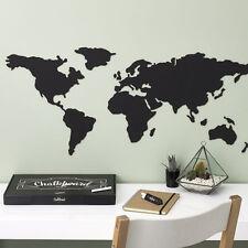 "LUCKIES Weltkarte ""Chalkboard Map"" NEU/OVP beschreibbare Karte Kork Board Deko"