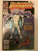 West Coast Avengers #45 (Jun, 1989) 1st White Vision! SUPER HIGH GRADE NM 9.6+