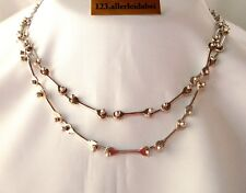 Rar Otto Meier Worpswede Kette 925 Silber 91,0 cm old silver necklace / BH 730