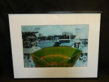 Vintage 8x12 New York Yankees Stadium Collage Print  with Mantle Ruth Dimaggio