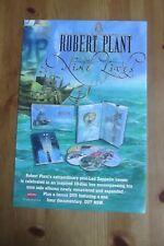 ROBERT PLANT - NINE LIVES - ADVERT 19.5 x 29cm.