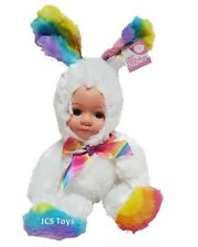 "Plush Fur Baby ""Flopsie"" Bunny Rabbit Easter Doll Soft Toy Animal Costume"