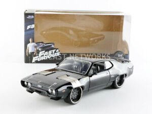JADA TOYS 1/24 - PLYMOUTH GTX - DOM - FAST AND FURIOUS 8 - 98292BK