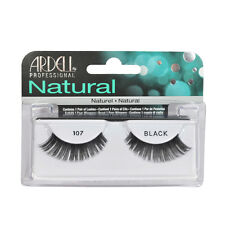 2 Pairs x Ardell Natural Lashes #107 False Eyelashes Fake Lash Eyelash Black