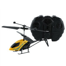 Mini Radio Remote Control Aircraft 2.5CH RC Airplane Helicopter Kids Toy