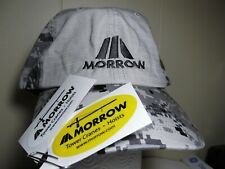Rare Morrow Tower Crane Digital Camo trucker Hat & sticker machinery or oilfield