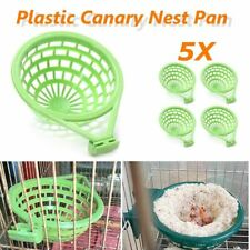 Large Plastic Canary Cage Pan Liner For Nesting Bird Hatching Tools Supplies New