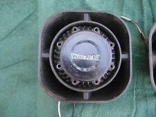 Whelen Speakers 100 Watts Used