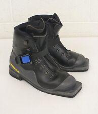 Merrell Flash Black & Gray Padded 3-Pin 75mm Telemark/Alpine Ski Boots 6.5/38