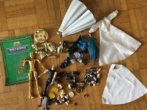 Lot pièces détachées Myth Cloth Saint Seiya Bandai