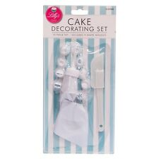 12pc Easy Use Icing Set Baking Cooking Cupcake Cake Decorating Cupcakes Nozzles