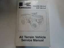 2003 2004 2005 Kawasaki Prairie 360 4x4 KVF 360 4x4 ATV Service Shop Manual NEW