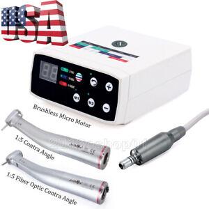 NSK Style Dental Brushless LED Electric Micro Motor 1:5 Increasing Handpiece