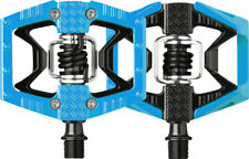 NEW Crank Brothers Doubleshot Mtb Mountain Bike Pedals Blue Black