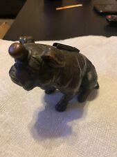 "Rare Antique Figural ""BULLDOG"" Touch Tip Table Lighter RONSON CHANDLER BROS. CO."