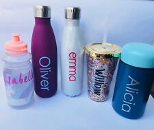 Personalised NAME LABELS/STICKERS. Water Bottles, Lunchboxes. Back To School