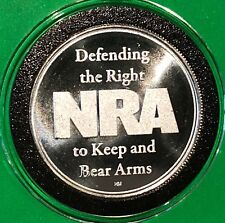 NRA National Rifle Association Right To Bear Arm 1 Troy Oz .999 Fine Silver Coin
