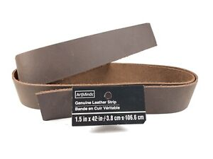 Brown Tooling Leather Straps 1.5 X 42 Inches